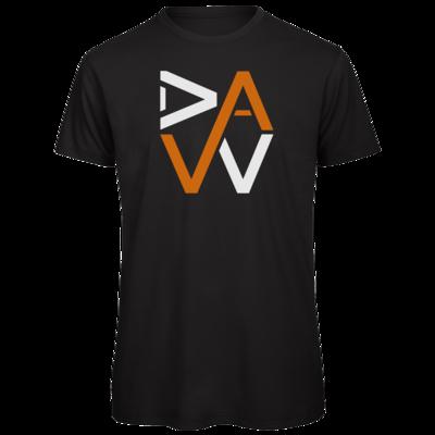 Motiv: Organic T-Shirt - DaW-Logo Orange