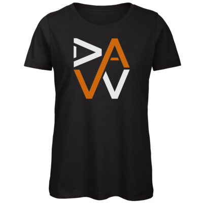Motiv: Organic Lady T-Shirt - DaW-Logo Orange