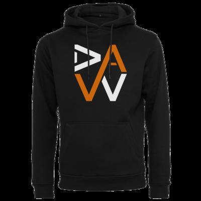 Motiv: Heavy Hoodie - DaW-Logo Orange