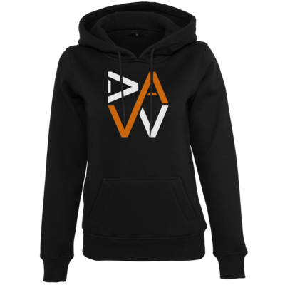 Motiv: Womens Heavy Hoody - DaW-Logo Orange