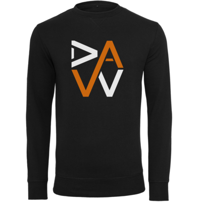 Motiv: Light Crew Sweatshirt - DaW-Logo Orange