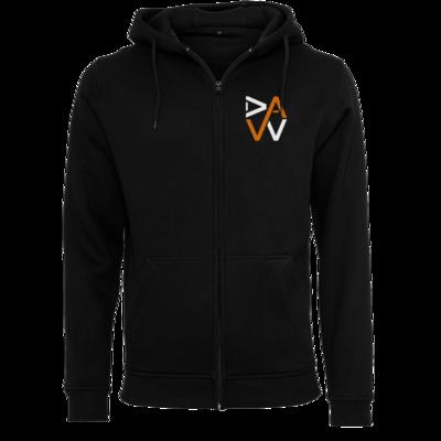 Motiv: Heavy Zip-Hoodie - DaW-Logo Orange