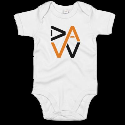 Motiv: Baby Body Organic - DaW-Logo Orange