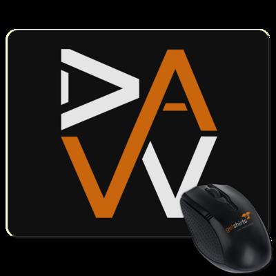 Motiv: Mousepad Textil - DaW-Logo Orange