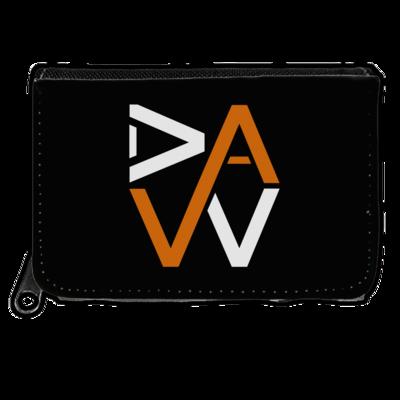 Motiv: Geldboerse - DaW-Logo Orange