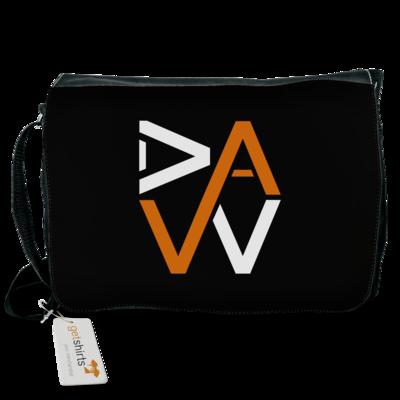 Motiv: Schultertasche - DaW-Logo Orange