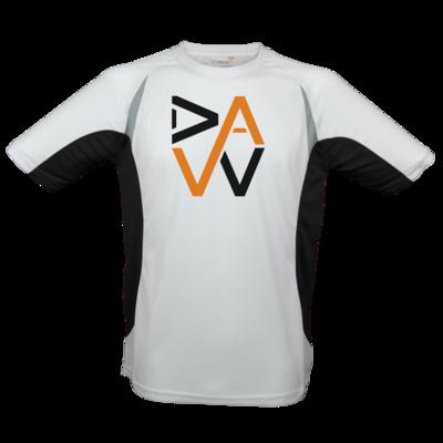Motiv: Laufshirt Running T - DaW-Logo Orange