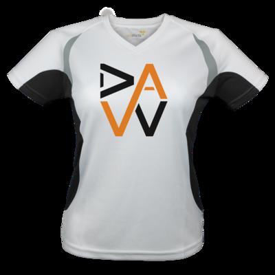 Motiv: Laufshirt Lady Running T - DaW-Logo Orange