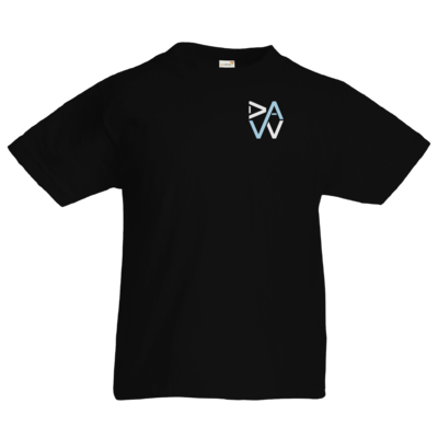 Motiv: Kids T-Shirt Premium FAIR WEAR - DaW-Logo Hellblau