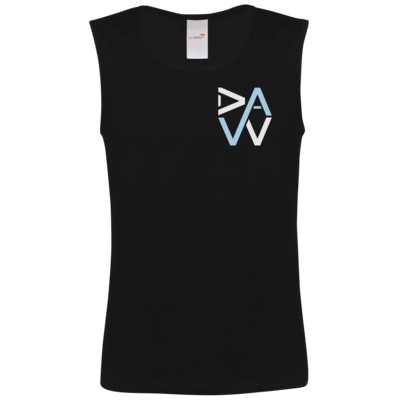 Motiv: Athletic Vest FAIR WEAR - DaW-Logo Hellblau