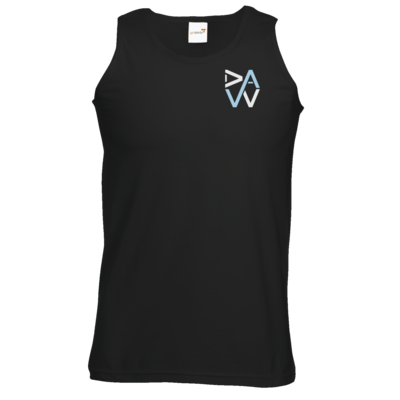 Motiv: Athletic Vest - DaW-Logo Hellblau