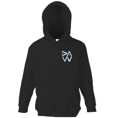Motiv: Kids Hooded Sweat - DaW-Logo Hellblau