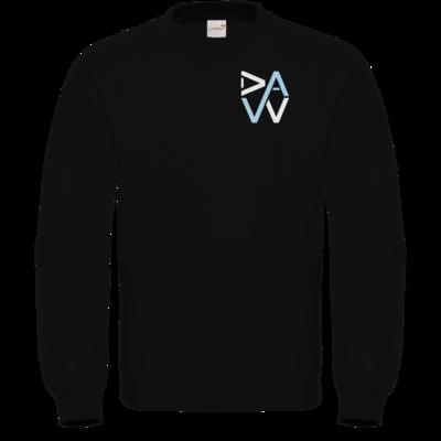 Motiv: Sweatshirt FAIR WEAR - DaW-Logo Hellblau