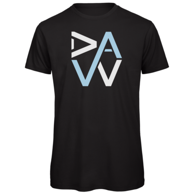 Motiv: Organic T-Shirt - DaW-Logo Hellblau