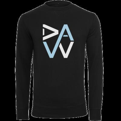 Motiv: Light Crew Sweatshirt - DaW-Logo Hellblau