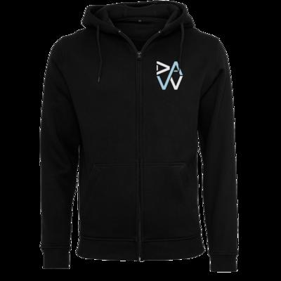 Motiv: Heavy Zip-Hoodie - DaW-Logo Hellblau