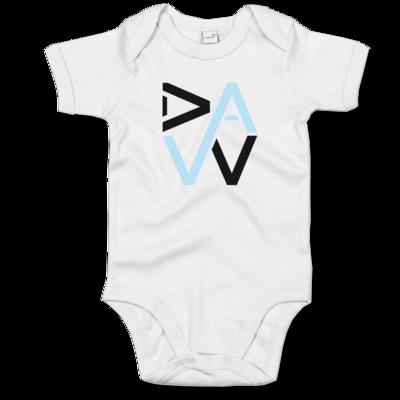 Motiv: Baby Body Organic - DaW-Logo Hellblau