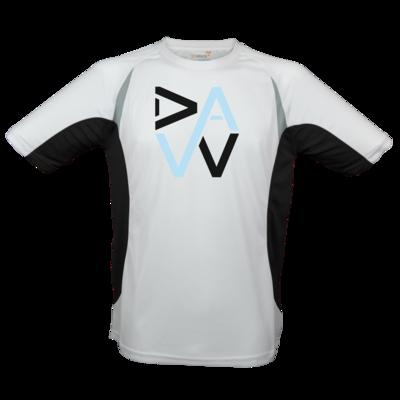 Motiv: Laufshirt Running T - DaW-Logo Hellblau