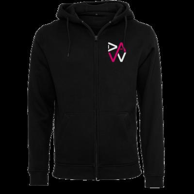 Motiv: Heavy Zip-Hoodie - DaW-Logo Pink
