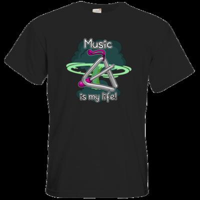 Motiv: T-Shirt Premium FAIR WEAR - Musik