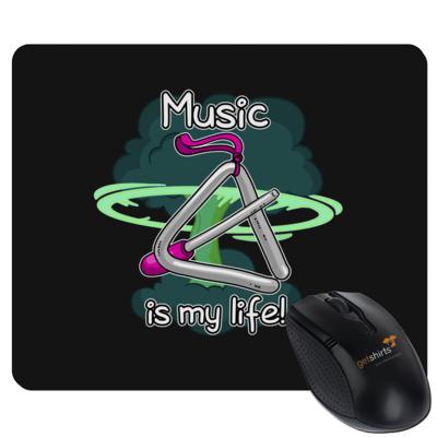 Motiv: Mousepad Textil - Musik