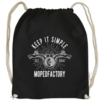 Motiv: Cotton Gymsac - Keep it simple