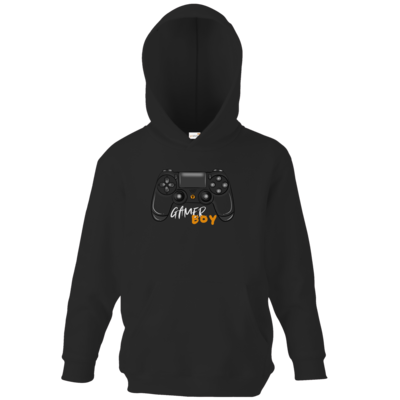 Motiv: Kids Hooded Sweat - GamerBoy