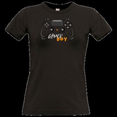 Motiv: T-Shirt Damen Premium FAIR WEAR - GamerBoy