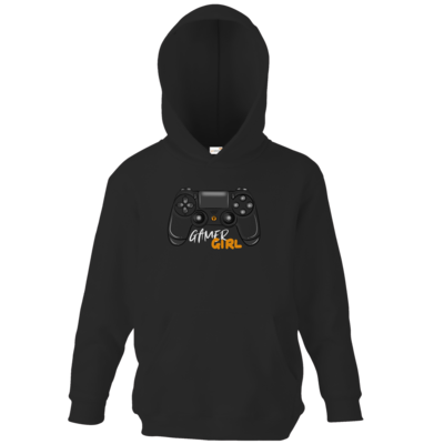 Motiv: Kids Hooded Sweat - GamerGirl
