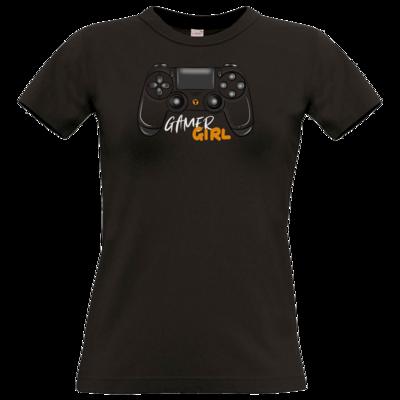 Motiv: T-Shirt Damen Premium FAIR WEAR - GamerGirl