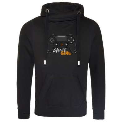 Motiv: Cross Neck Hoodie - GamerGirl