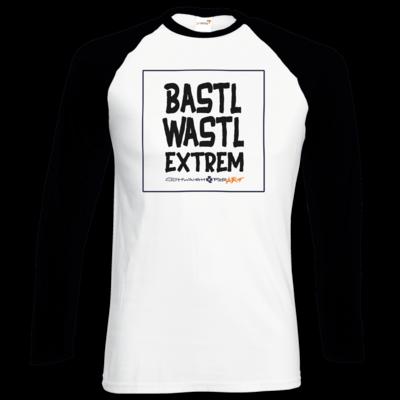 Motiv: Longsleeve Baseball T - Bastlwastl extrem