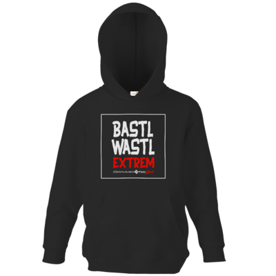 Motiv: Kids Hooded Sweat - Bastlwastl extrem