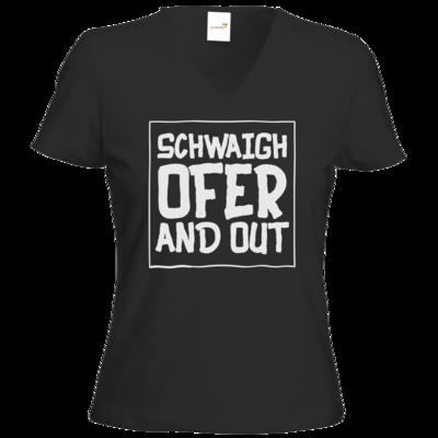 Motiv: T-Shirts Damen V-Neck FAIR WEAR - Schwaighofer and out
