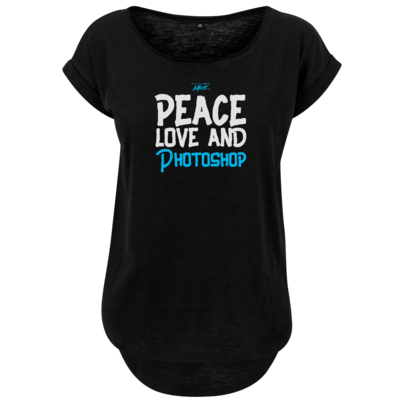 Motiv: Ladies Long Slub Tee - Love