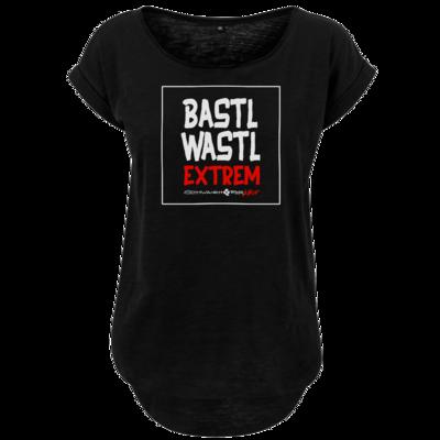 Motiv: Ladies Long Slub Tee - Bastlwastl extrem