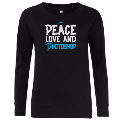 Motiv: Girlie Crew Sweatshirt - Love