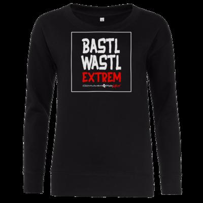 Motiv: Girlie Crew Sweatshirt - Bastlwastl extrem