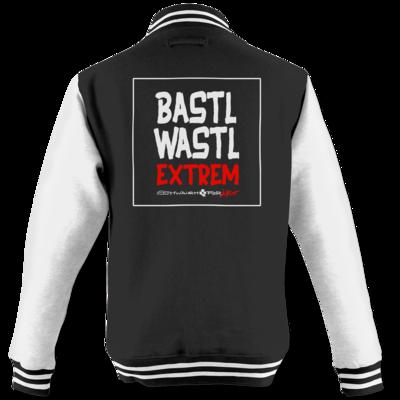 Motiv: College Jacke - Bastlwastl extrem