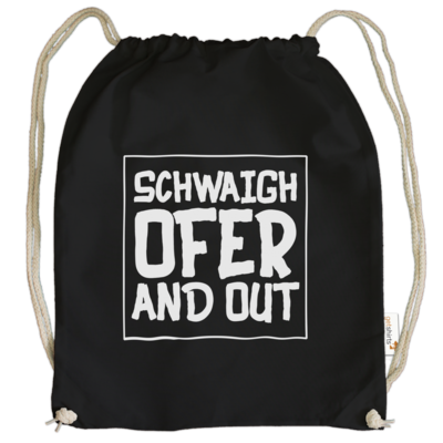 Motiv: Cotton Gymsac - Schwaighofer and out