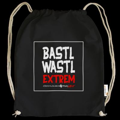 Motiv: Cotton Gymsac - Bastlwastl extrem
