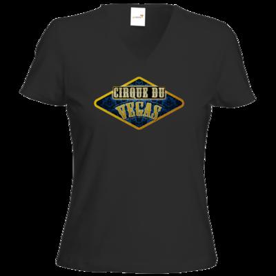 Motiv: T-Shirt Damen V-Neck Classic - Cirque du Vegas