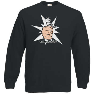 Motiv: Sweatshirt Classic - #heimwerkerkönig
