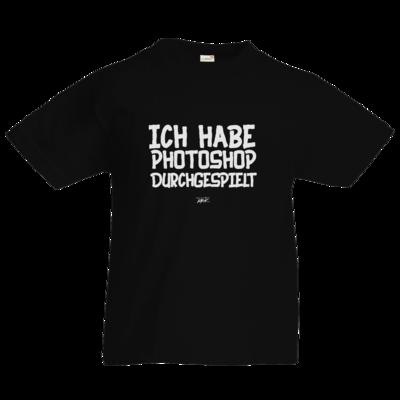 Motiv: Kids T-Shirt Premium FAIR WEAR - Ich hab PS durchgespielt