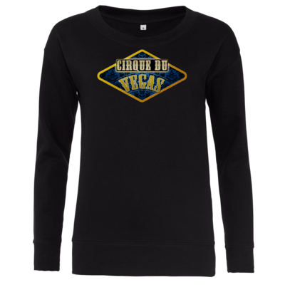 Motiv: Girlie Crew Sweatshirt - Cirque du Vegas