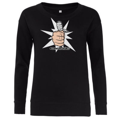 Motiv: Girlie Crew Sweatshirt - #heimwerkerkönig