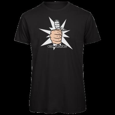 Motiv: Organic T-Shirt - #heimwerkerkönig