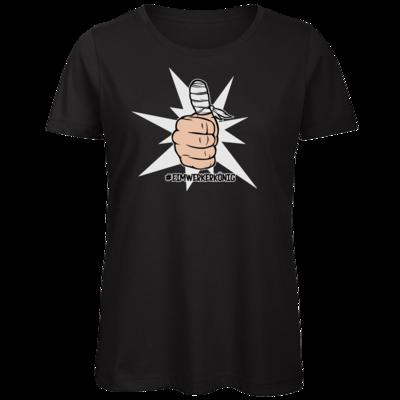Motiv: Organic Lady T-Shirt - #heimwerkerkönig