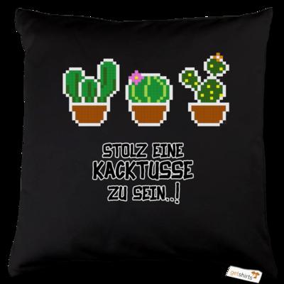 Motiv: Kissen Baumwolle - Kacktusse