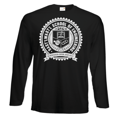Motiv: #E190 Longsleeve FAIR WEAR - Bast'lwast'l School of Engineering